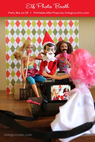 Printable-Elf-Photo-booth
