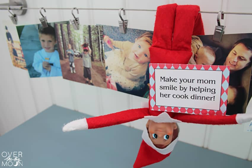 Elf on the Shelf Printables - these Good Deed Cards are loved by kids each Christmas season! From www.overthebigmoon.com!