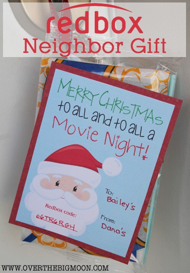 photo about Redbox Printable Tags identified as Redbox Neighbor Present Notion - In excess of the Large Moon