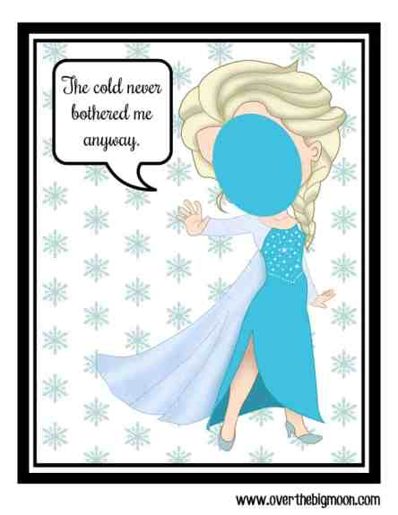 santa elf on the shelf elsa cutout