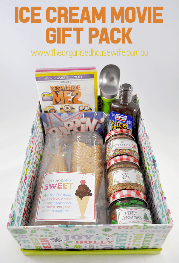 Ice Cream Movie Gift Pack - perfect for teachers! From overthebigmoon.com!
