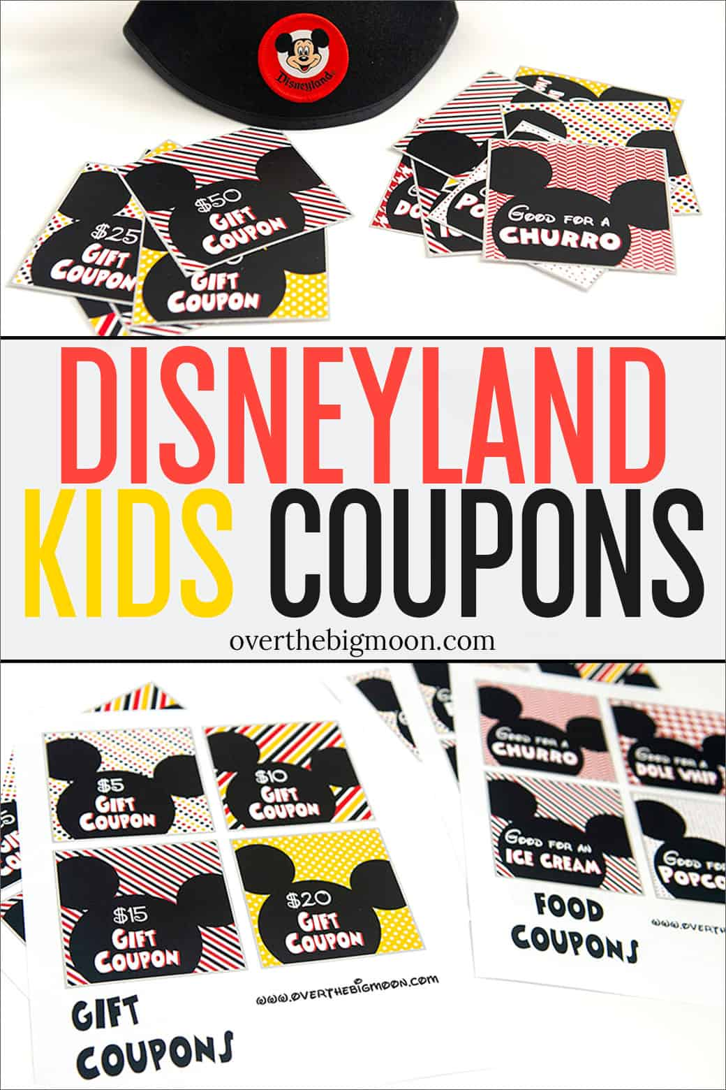 photo relating to Disneyland Printable Coupons called Disneyland Coupon Printables - More than the Significant Moon