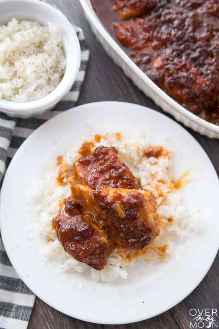 French Chicken Recipe- serve with rice and enjoy!