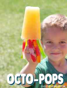 Octo Pops - kids freak over these! So much fun, plus super tasty!