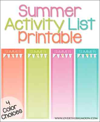 summer-activity-list
