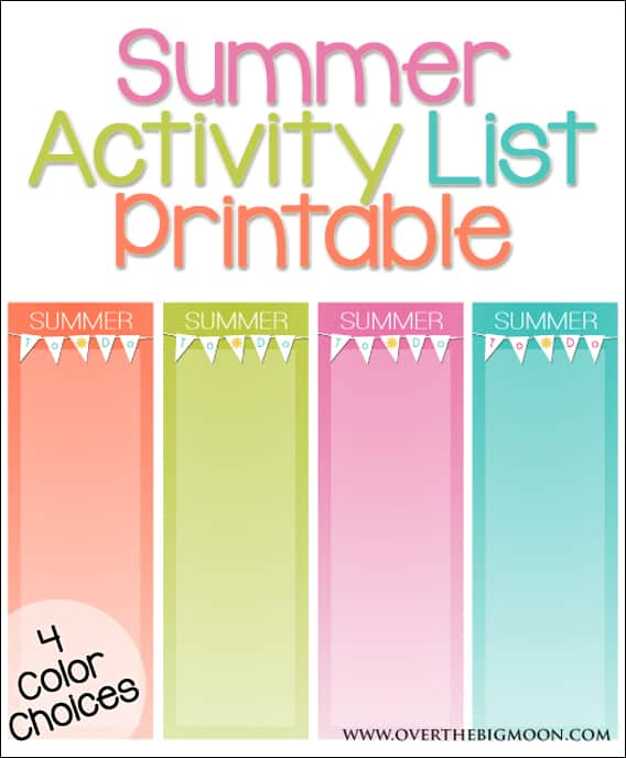 summer-activity-list