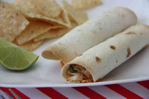 baked chicken taquitos cooking with crystal