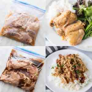 Crock Pot Chicken Freezer Meals the whole family will love! From overthebigmoon.com!