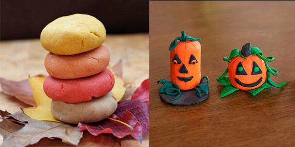 Easy Fall Crafts for Young Kids - These are perfect for young kids and won't be too much work for mom! From www.overthebigmoon.com!