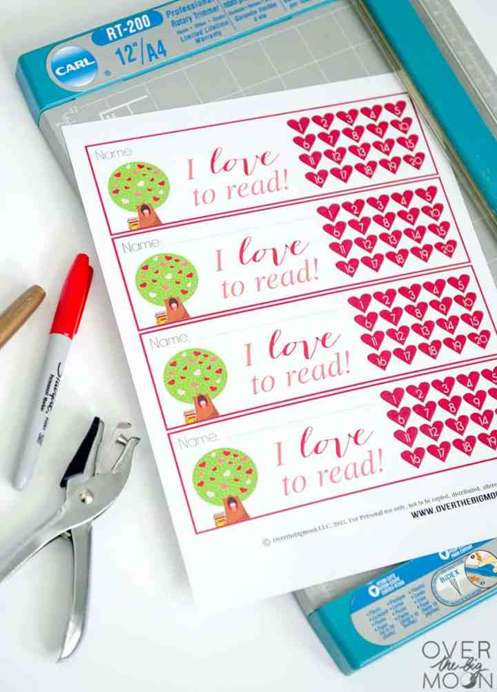 Trim Printable Bookmarks
