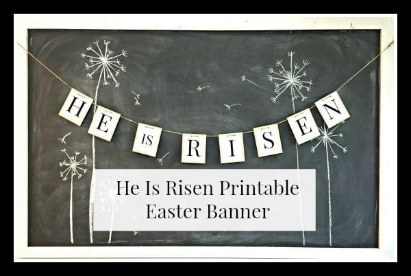 Free Printable Easter Banner