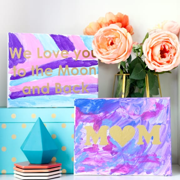Kid Friendly Mother's Day Art