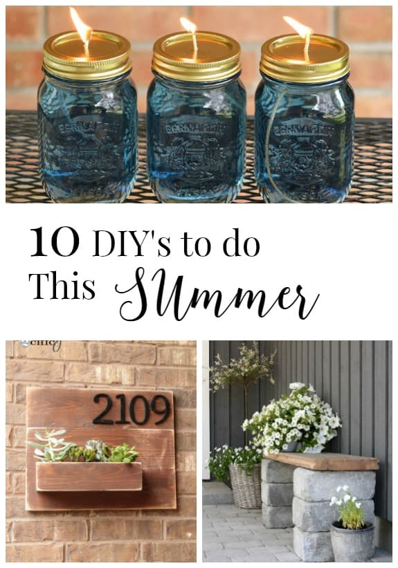 10 DIYs to do this summer