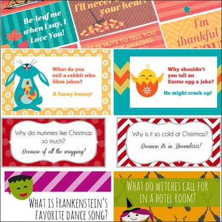 Lunch Box Jokes for Every Season and Holiday | Over The Big Moon