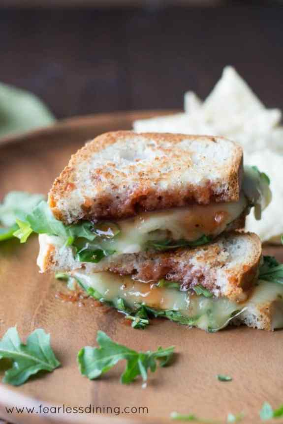 gluten-free-pepper-jack-grilled-cheese-with-strawberry-hot-sauce-and-arugula-hero-600x900
