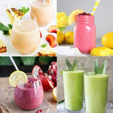 25 Tasty Smoothies that are ALL worth trying   www.overthebigmoon.com