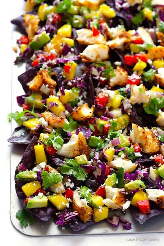 Low Carb Fish Taco Bowl