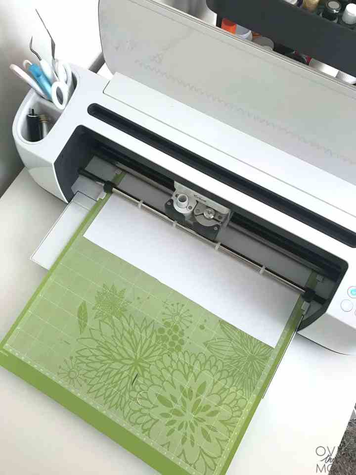 The Cricut Maker cuts HTV beautifully! Learn how to customize items with HTV. From overthebigmoon.com