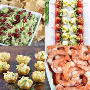 Top 25 New Years Eve Appetizers - from overthebigmoon.com!