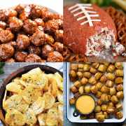 The top Super Bowl Snacks -- these Game Winning Super Bowl Snacks are sure to everyone pleased! Check them out here -- from overthebigmoon.com!