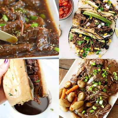 Beef Instant Pot Dinner Ideas from overthebigmoon.com!
