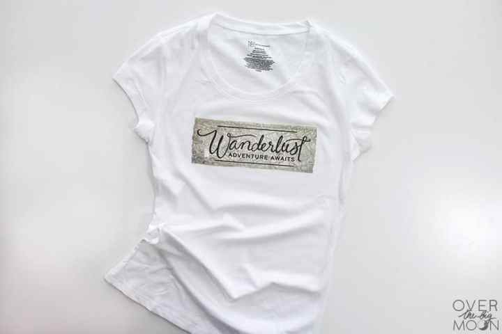 Create cute and custom shirts super easy with Cricut Iron On Designs from overthebigmoon.com!