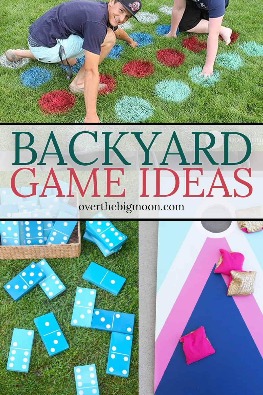 35 Fun Backyard Game Ideas from overthebigmoon.com!