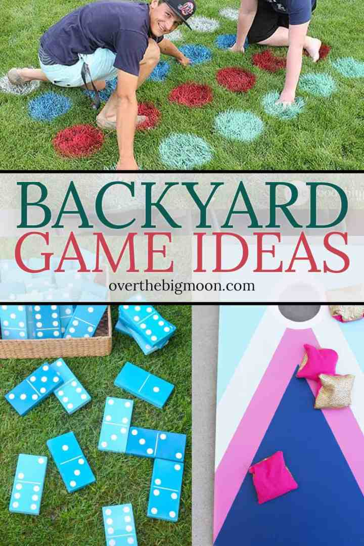 35 Fun Backyard Game Ideas from overthebigmoon.com!