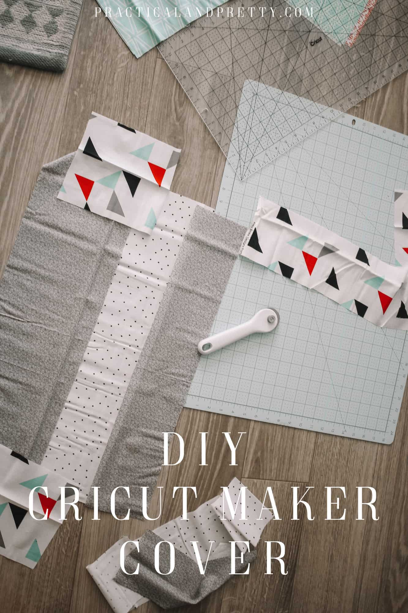 It is really simple easy to create this cover for your Cricut machine and you don't need many materials to complete the project!