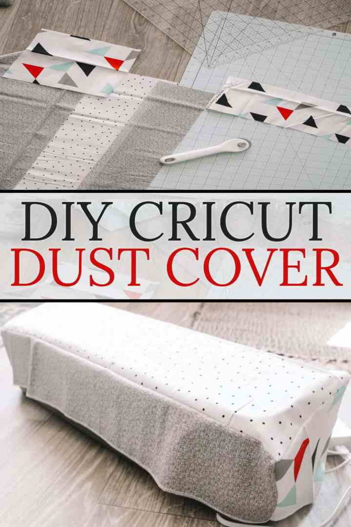 A simple and easy cover for your Cricut cutting machine to help protect it from dust! From overthebigmoon.com!