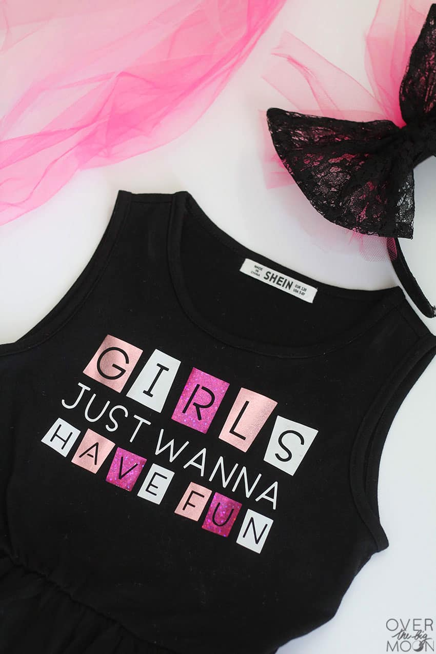 80's Rock Outfit for little girls! From overthebigmoon.com!