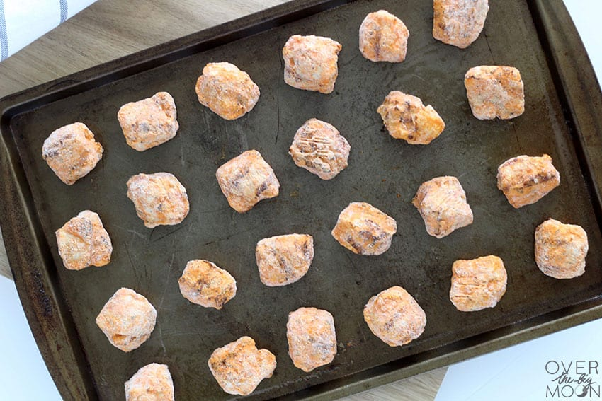 Cooked Perfect Chicken Chunks are so universal and can be used in so many meal ideas! From overthebigmoon.com!