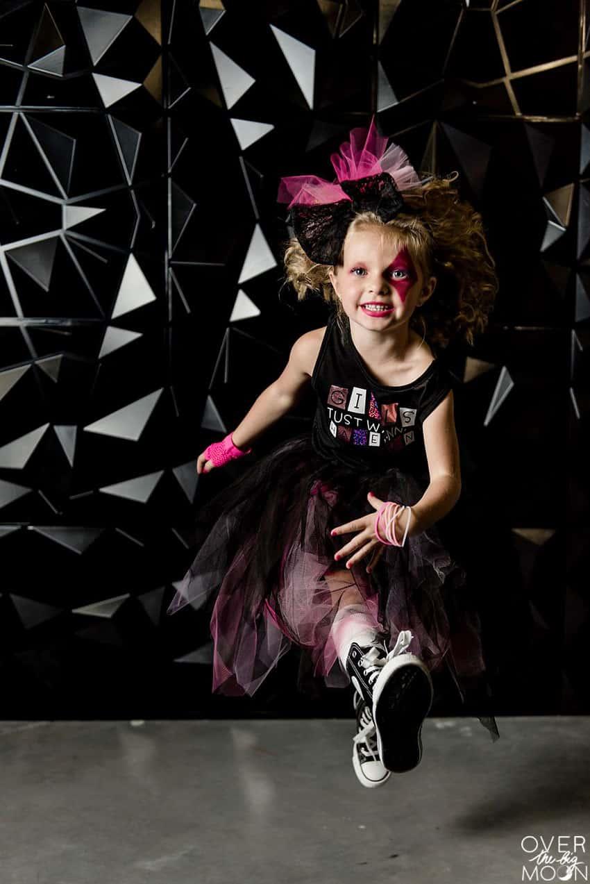 diy girls rock star costumes  over the big moon