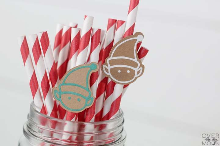 Elf Straw Toppers + more from overthebigmoon.com!
