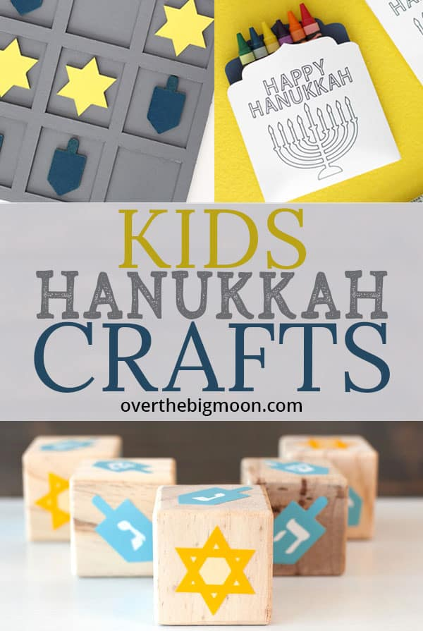 Kids Hanukkah Crafts and Activities for Kids! From overthebigmoon.com!