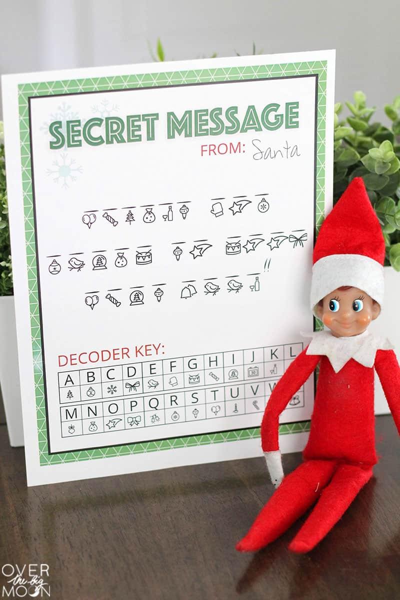 Elf Wishing Bracelet Santa Christmas Gift Xmas Stocking Fun For On The Shelf