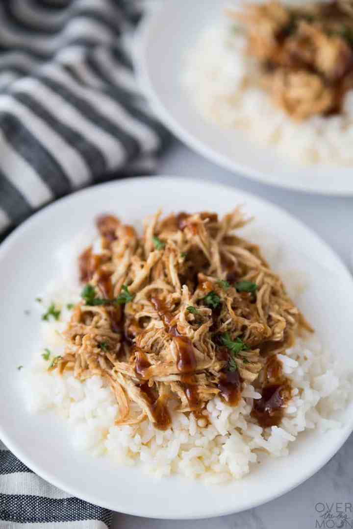 BBQ Chicken Dinner - a family favorite that is beyond delicious! From overthebigmoon.com!
