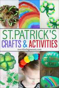 Make St. Patrick's Day extra special by planning some St.Patrick's Day Kids Crafts and Activities! You'll find all things rainbows, Leprechauns, shamrocks and more!