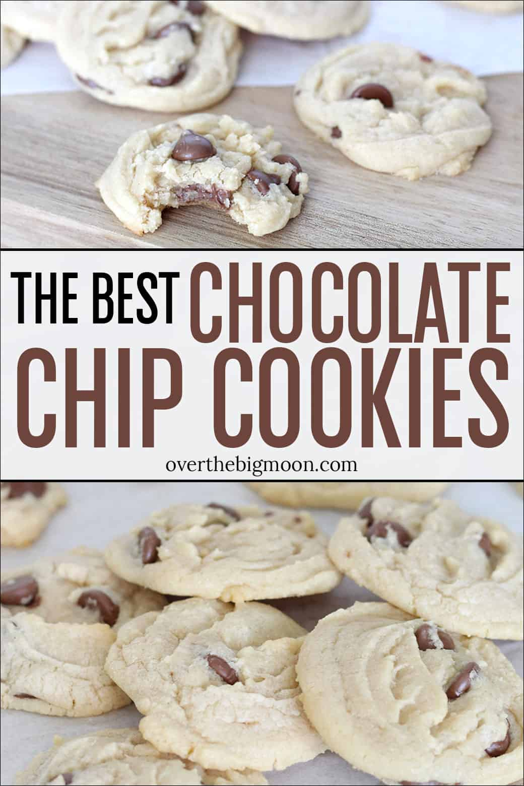These are the ALL TIME Best Chocolate Chip Cookies! They are so light and fluffy! You'll never need another Chocolate Chip Cookie recipe again!