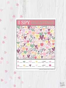 Printable I Spy Valentine's Game from overthebigmoon.com