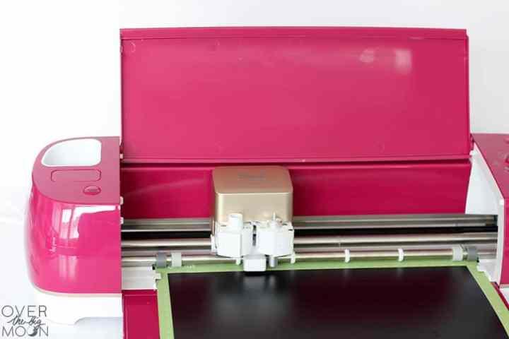 Load Vinyl into Wild Rose Cricut Explore Air 2 Machine