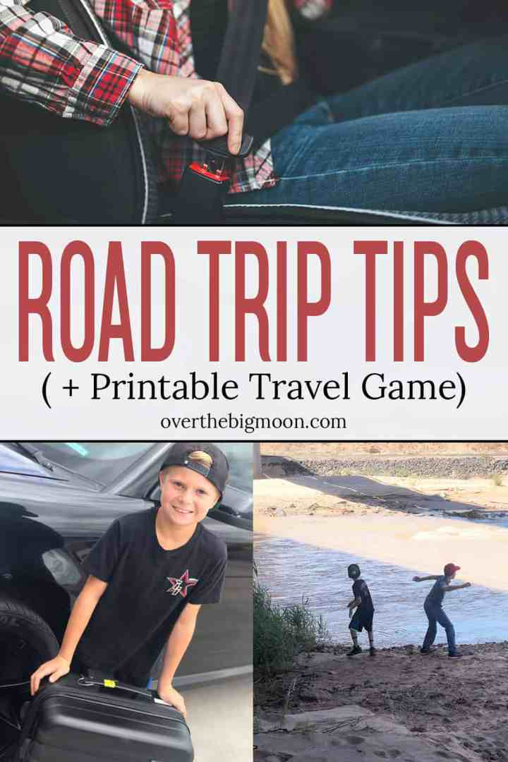 Summer travel is here! Come learn some simple, but important Road Trip Safety Tips! I'm also sharing a printable Road Trip Word Scramble that you can print for a fun activity while on the road!