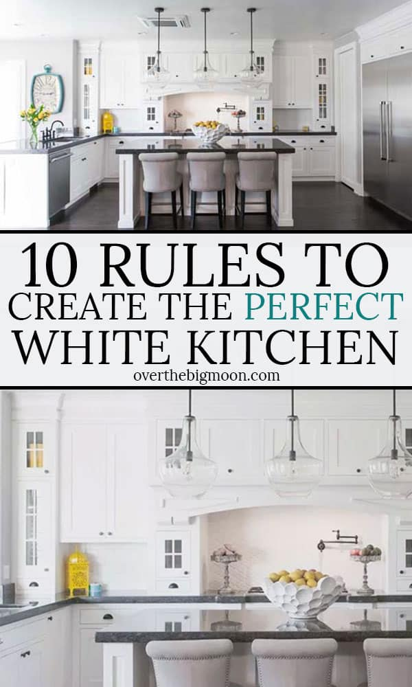 Rules to Create the Perfect White Kitchen Button to Blog Post