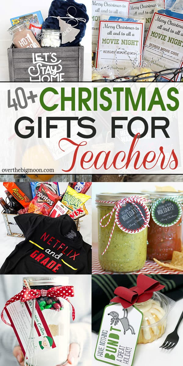 40 Easy Christmas Gifts For Teachers Over The Big Moon