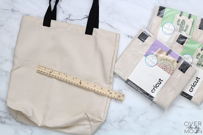 A blank infusible ink tote bag with