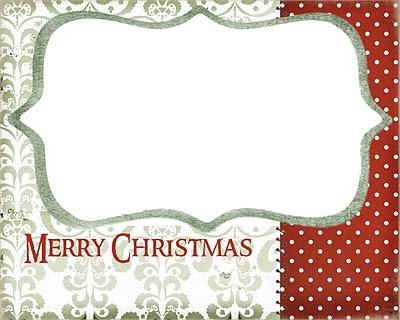 Christmas Card Display 5 Printable Christmas Cards