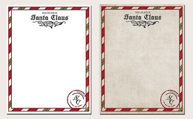 image about Printable Letterhead From Santa titled Letter towards Santa Printable