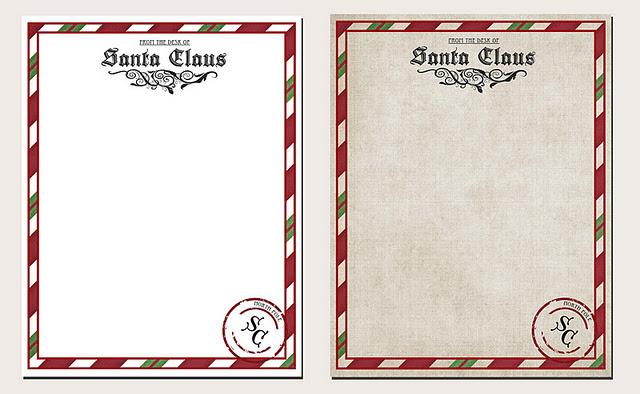 photo regarding Letter From Santa Printable referred to as Letter versus Santa Printable