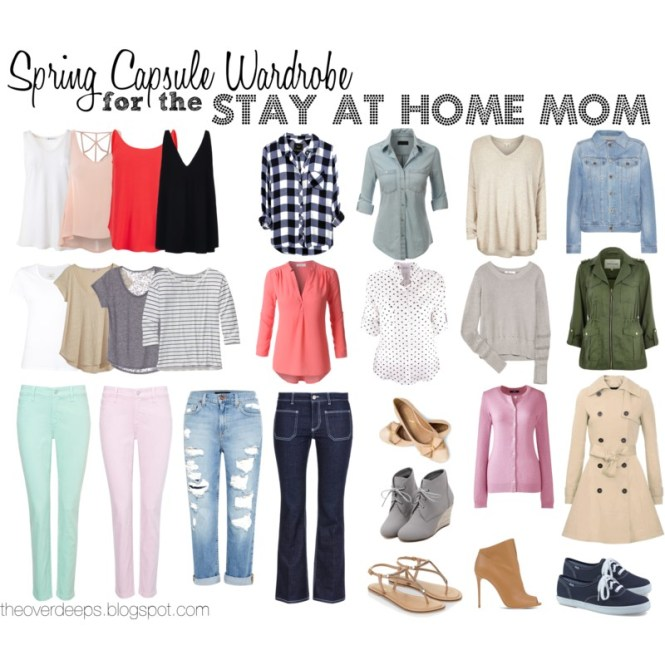 Capsule Wardrobe for the SAHM