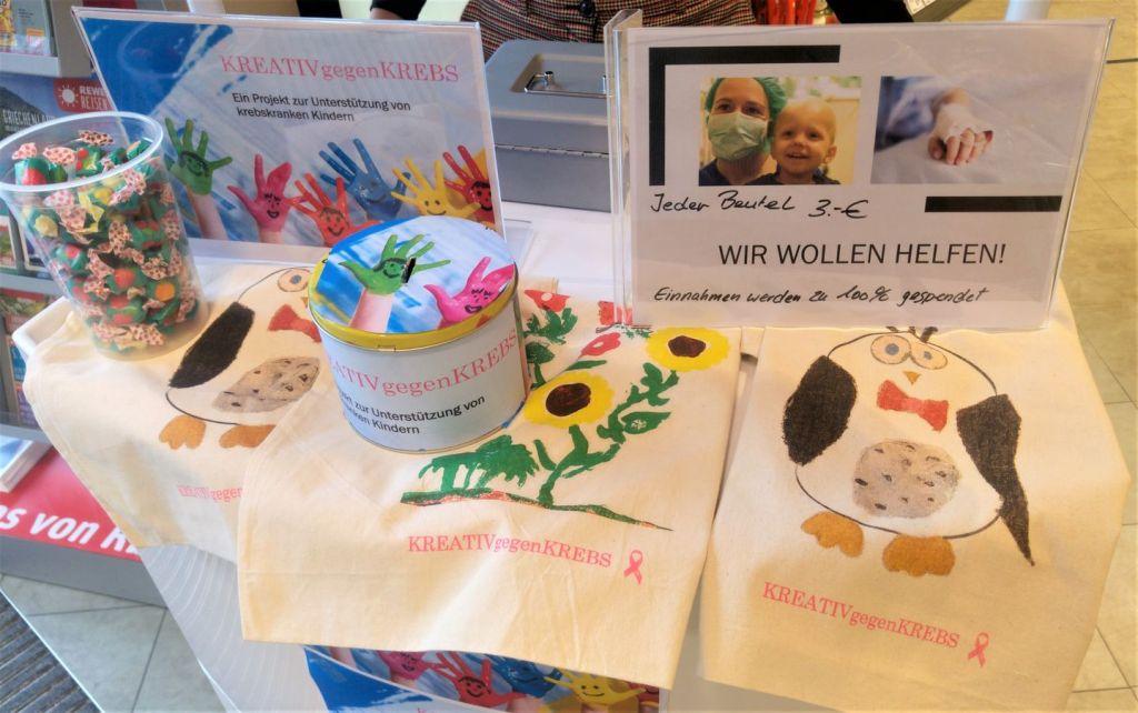 Kreativ gegen Krebs - Kunstworkshop